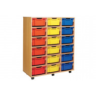 18 Deep Tray Storage Unit