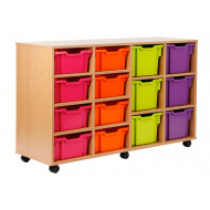 Variety Tray Storage Unit With 14 Trays