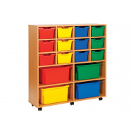 Cubby Combination Tray Storage Unit