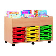 6 Bay Kinderbox With Trays