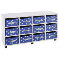 12 Deep Horizontal Canvas Trays Unit