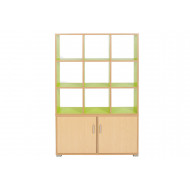 Bubblegum 9 Cube Room Divider Unit