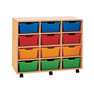 Pop 12 Deep Tray Storage Unit