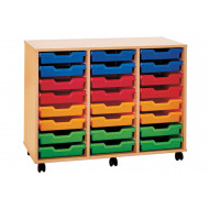 Pop 24 Shallow Tray Storage Unit
