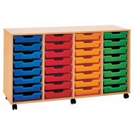 Pop 32 Shallow Tray Storage Unit