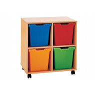 Pop 4 Jumbo Tray Storage Unit