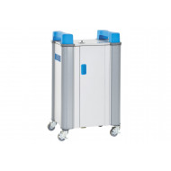 Tabcabby 16H Horizontal Tablet Charging Trolley