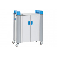 TabCabby 32H horizontal tablet charging trolley