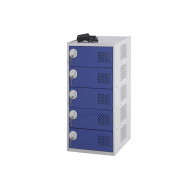 Laptop Charging Locker With 5 Doors And 5 Compartments