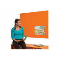 Frameless Colourplus Felt Noticeboards