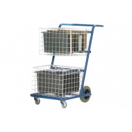 Premium mail distribution trolley