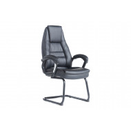 Duffy Leather Faced Visitor Chair