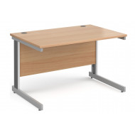 Next-Day Tully Deluxe Rectangular Desk