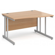 Tully II Right Hand Wave Desk