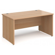 Tully Panel End Rectangular Desk