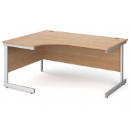 Tully I Left Hand Ergonomic Desk