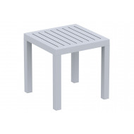 Obovate Square Side Table