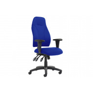 Asinaro Fabric Posture Chair (Adjustable Arms)