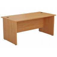 Progress Panel End Rectangular Desk