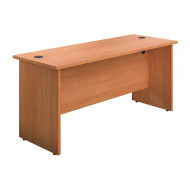 Progress Panel End Narrow Rectangular Desk