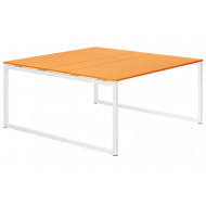 Next-Day Campos Hooped Leg 6-8 Person Meeting Table (Orange)