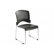 Pack of 2 Janon Sled Base Poly Conference Chairs