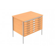 Nile A1 Square Frame Office Plan Chests