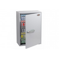 Phoenix KC0604N 200 Hook Key Commercial Key Cabinet With Netcode Electronic Lock