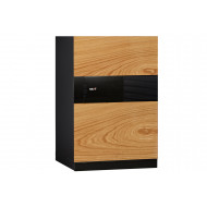 Phoenix Next LS7002FO Luxury Safe Oak (72ltrs)