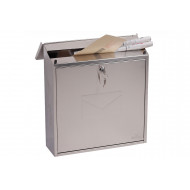 Casa Top Loading Mail Box Stainless Steel