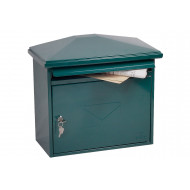 Next-Day Phoenix Libro MB0115KG front loading mail box green