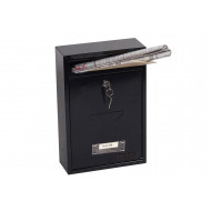 Phoenix Letra MB0116KB Front Loading Mail Box Black