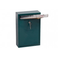 Phoenix Letra MB0116KG Front Loading Mail Box Green