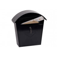 Phoenix Clasico MB0117KB Front Loading Mail Box Black
