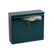 Next-Day Phoenix Correo MB0118KG Front Loading Mail Box Green