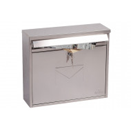 Next-Day Correo Front Loading Mail Box Stainless Steel