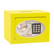 Phoenix SS0721EYD Compact Home Office Safe With Electronic Lock Yellow (5ltrs)