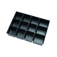 Pack Of 5 A3 12 Compartment Trays for Bisley Multidrawers