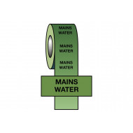 Mains Water BS Pipeline Marking & Identification Tape