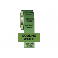 Cooling Water BS Pipeline Marking & Identification Tape