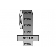 Steam BS Pipeline Marking & Identification Tape