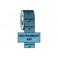 Instrument Air BS Pipeline Marking & Identification Tape