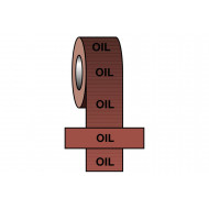 Oil BS Pipeline Marking & Identification Tape