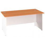 Progress Duo Panel End Narrow Rectangular Desk