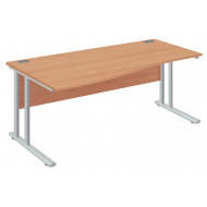 Next-Day Proteus II Left Hand Wave Desk