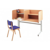 Deluxe Double Study Carrel