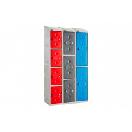 Probe UltraBox Water Resistant Plastic Locker With Sloping Top