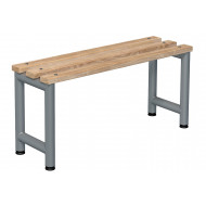 Probe Single Sided Cloakroom Bench (Light Ash)