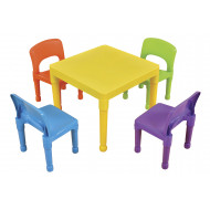 Draco Table And 4 Chairs