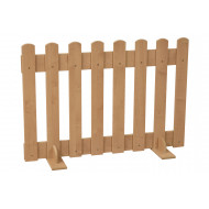 Maple Picket Fence Room Divider